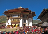 Gangtey Goemba monastery