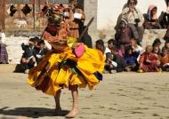 Bhutan mask dance
