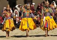 Tsechu – Crane Festival