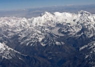 Himalaya before landing