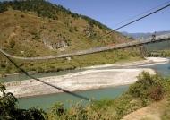 Punakha suspension bridge