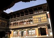Paro Dzong Monastic quarter