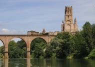 Cathedral from Tarn River