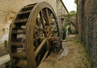 Forge – wooden water wheel