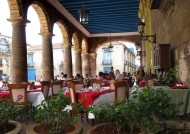 Restaurant near the cathedral