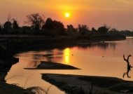Luangwa River is adorned…