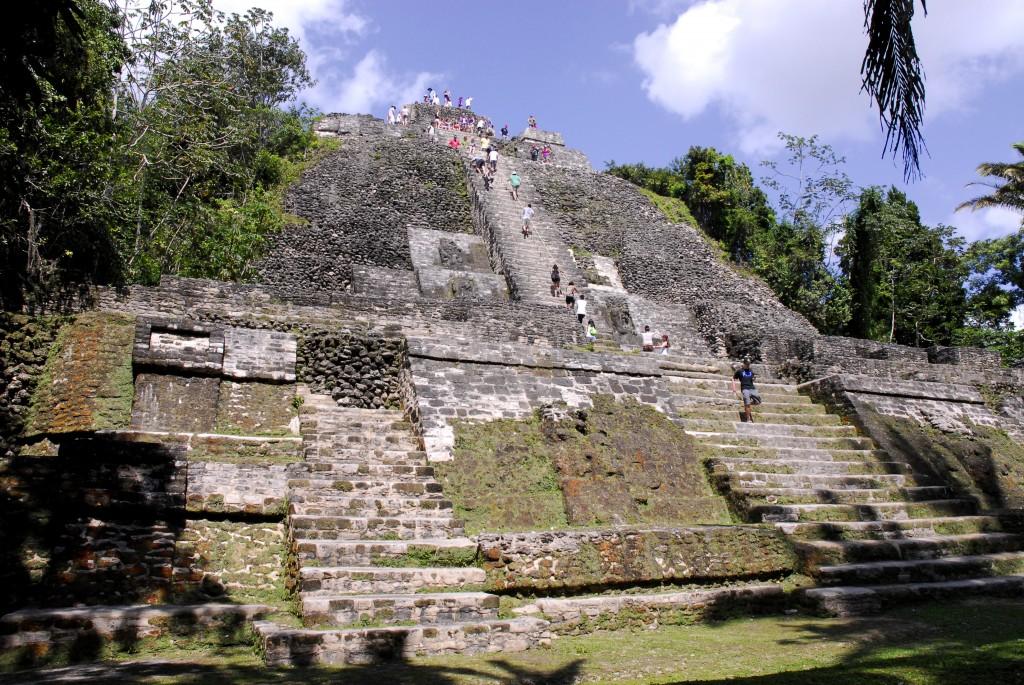 Belize Lamanai Temples