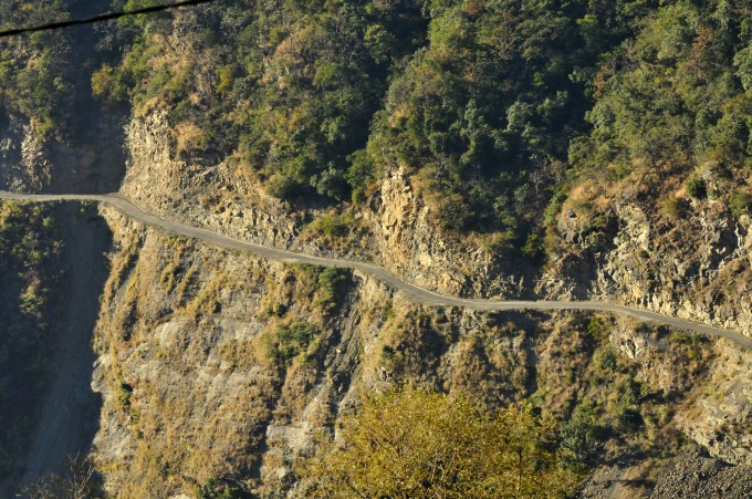 Terrific Bhutan's roadsA