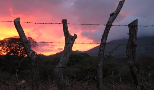 Sunset-Ometepe Island