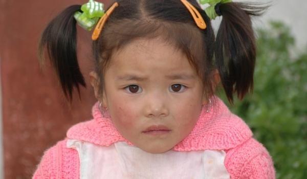 China Child in Songpan