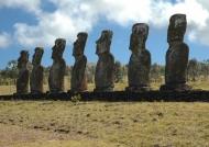 Ahu Akivi 7 Moai