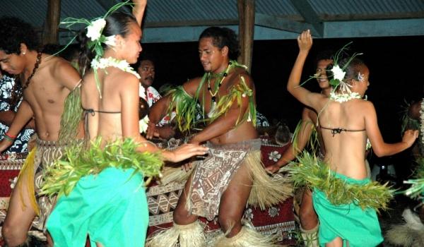 Evening local dances