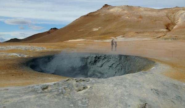 Namafjall sulphur field