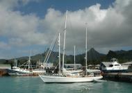 Rarotonga unique harbour