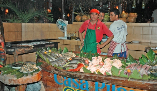 Boracay Restaurant fresh seafood