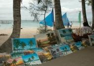 Boracay  The art up to the beach