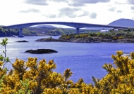 Scotland  Bridge connecting with Skye
