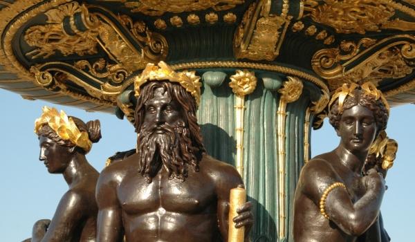 «Place de la concorde»-Statues