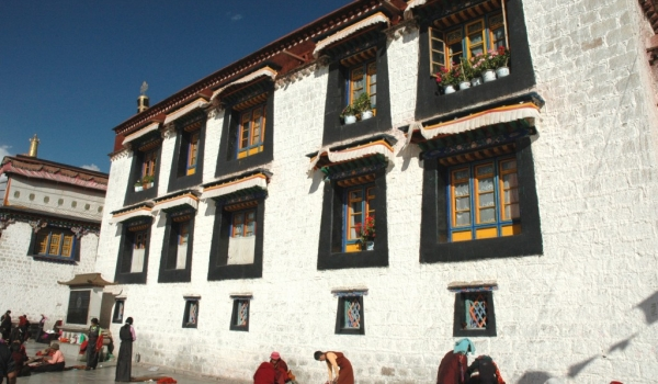 Jokhang Temple  area