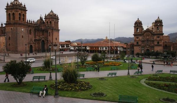 Cathedral in Plaza de Armas