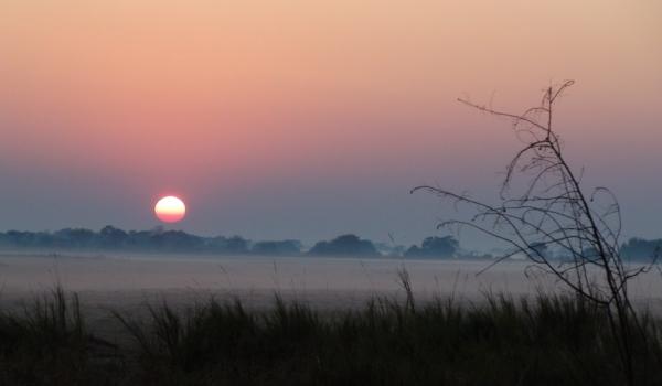 Sunrise at Busanga Plains