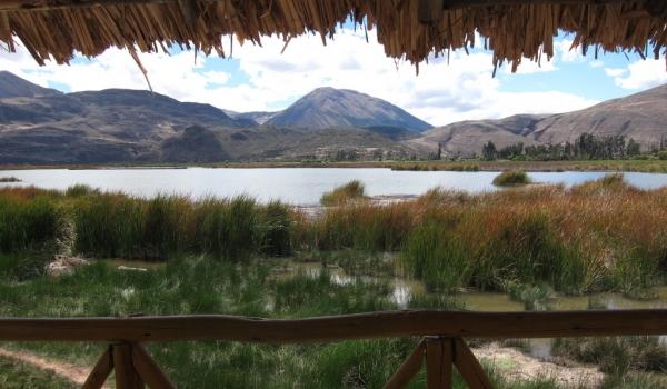 Laguna in Cusco area