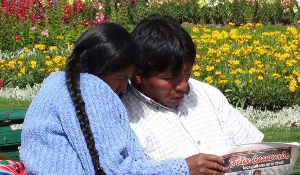 Relaxing in Cusco