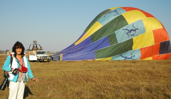 Return from Balloon Trip
