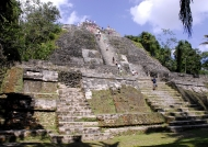 Lamanai High Temple