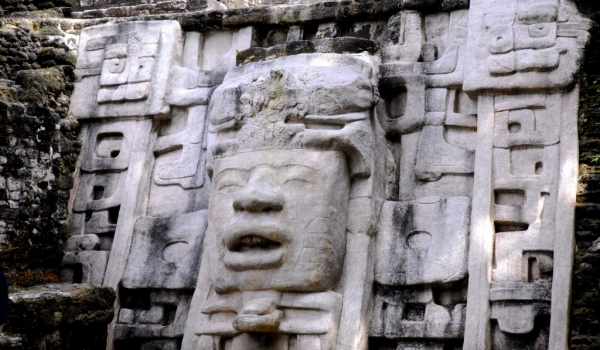 Lamanai Temples