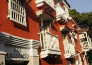 Cartagena balconies