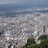 Bogota-view from Monserrate