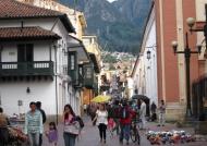 Typical Street of Bogotá