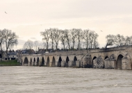 Beaugency bridge on the Loire