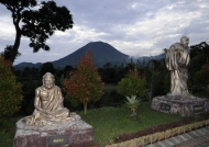 Sculptures & Lokon Volcano