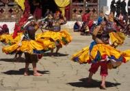 Pa Chham dancers