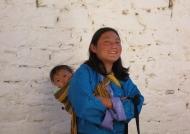 Woman wearing kira
