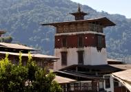 Trongsa Dzong tower