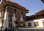 Courtyard – Punakha Dzong