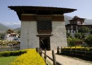 Entrance Bridge & Dzong