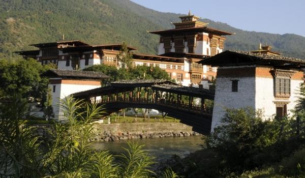 Punakha Dzong & Bridge
