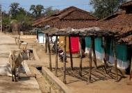 Quiet Indian village