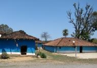 Houses near Kanha