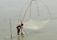 No miraculous fishing