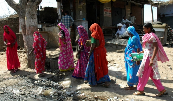 Women procession