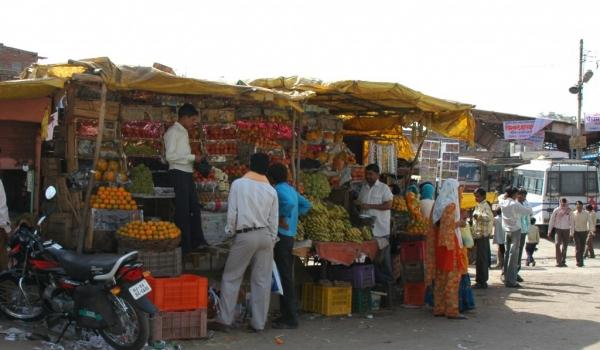 Display of fruit