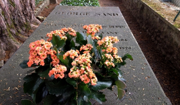 George Sand's grave