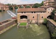 Old mill between 2 bridges