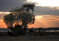 Sunset in Kasungu N.P.