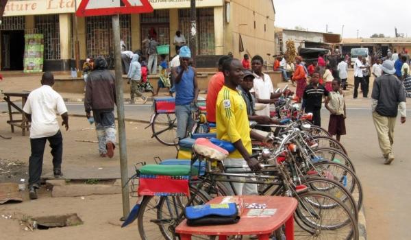 Taxi  bike station